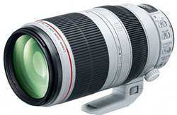 Canon EF100-400mm f/4.5-5.6L IS II USM telephoto zoom lens