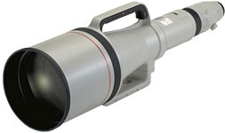 Canon EF1200mm f/5.6L USM super telephoto lens