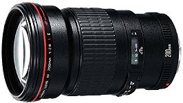 EF 200mm f/2.8L II USM telephoto lens