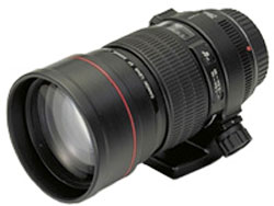 Canon EF200mm f/2.8L USM telephoto lens