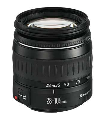 Canon EF28-105mm f/4-5.6 standard zoom lens