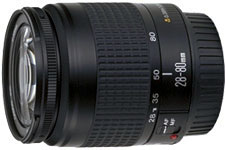 Canon EF28-80mm f/3.5-5.6 standard zoom lens