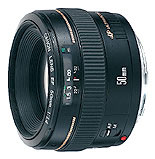 Canon EF 50mm f/1.4 USM telephoto lens