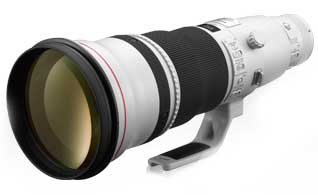 Canon EF 600mm f/4L IS ii USM super telephote lens