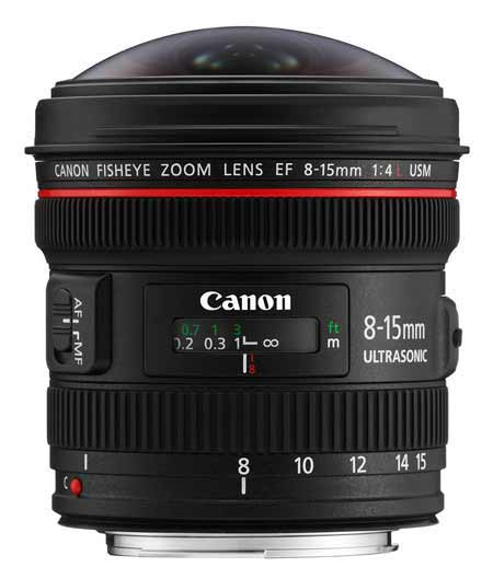ef 8-15mm fisheye lens