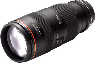 Canon EF80-200mm f/2.8L telephoto zoom lens