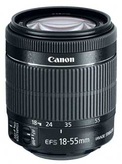 EF-S 18-55mm f/3.5-5.6 IS STM  standard zoom lens
